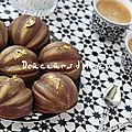 <b>Gâteaux</b> au chocolat et au halwa turc