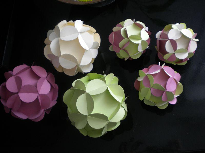 boules de papier