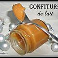 Confiture de lait maison (dulce de leche)...