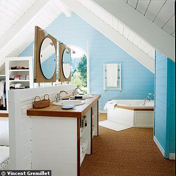 salle de bain lumineuse - Photo de carnets de décoration - la maison ...