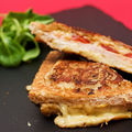 <b>Croques</b> monsieur tomate - moutarde