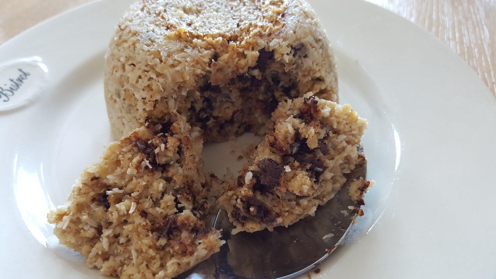 Un bowlcake choco-coco qui va devenir un grand classique