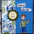 Invitation 12 ans Antoine