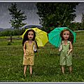 Nous chantons sous la pluie ! - we're singing in the rain !