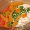 Salade de poulet au pamplemousse