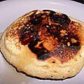 Pancake aux cranberries
