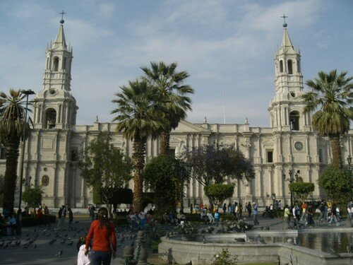 Arequipa, place d´armes