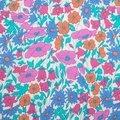 Tissu liberty bleu poppy & daisy