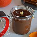 Pâte à tartiner légère au potiron et au chocolat noir