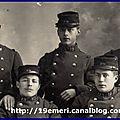 5 soldats du 19e ri dont victor derrien