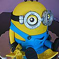 Gateau minion ! banana !