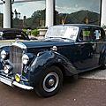 BENTLEY Mk VI 4door Saloon 1951 Baden Baden (1)