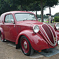 FIAT 500 Topolino fourgonnette 1939 Schwetzingen (1)