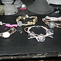 bracelets en fil de lin