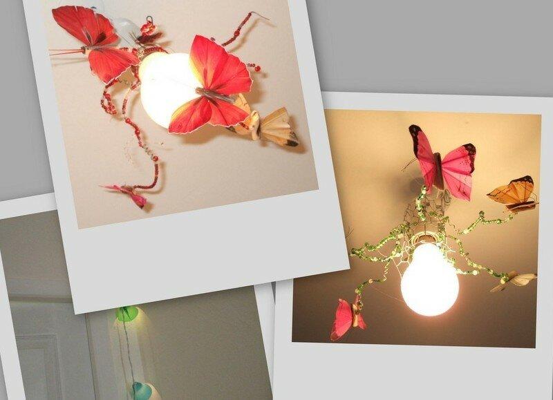 Guirlande & papillons!
