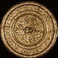 Mirror with Lions Among Grapevines, 7th-<b>8th</b> <b>century</b>