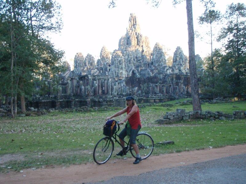 Bayon. Retour vers Siem Reap