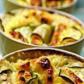 Clafoutis au saumon & courgettes 3pp/pers