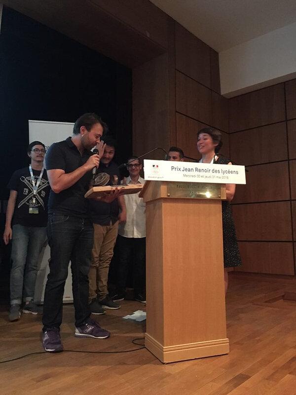 Hubert Charruel reçoit le prix