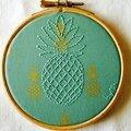 Ananas addict et hoop art