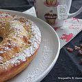Cake au mascarpone et raisins secs