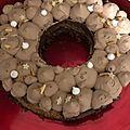 Gateau noisette chocolat
