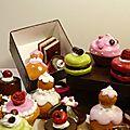 Concentré de gourmandise, mini gâteaux