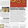Revue de presse 2014 de l'association Halte au Pillage du Patrimoine Archéologique et Historique