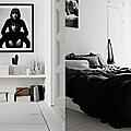 Intérieur en black&white