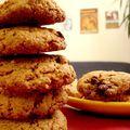 Cookies sans lactose à la purée de noisette