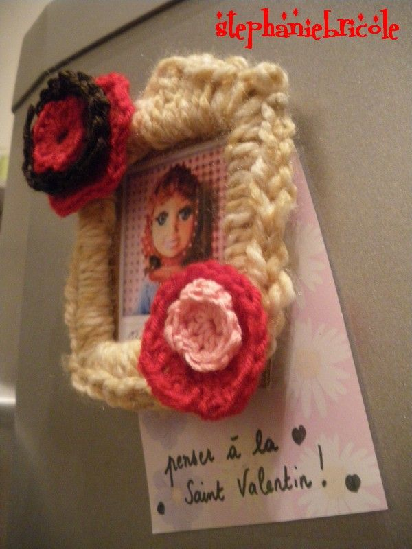faire des magnets crochet s th me des sc 72 st phanie bricole. Black Bedroom Furniture Sets. Home Design Ideas