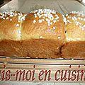 Brioche au Mascarpone & Pâte à Tartiner Lait Noisettes aux éclats de Caramel au Beurre Salé