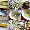 Frites de courgettes crousti-fondantes au four