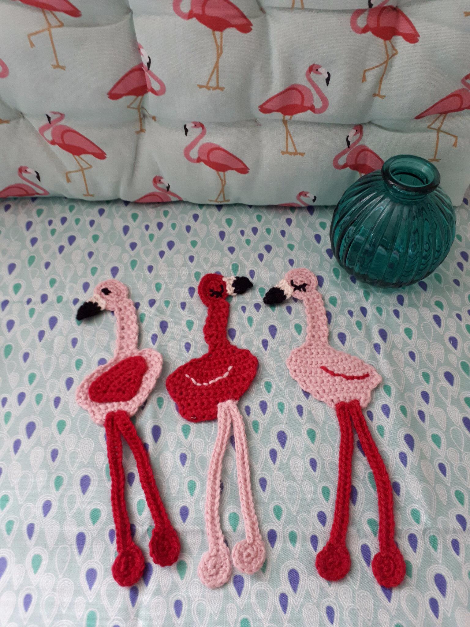 et un, et deux, et trois Flamingos!!!