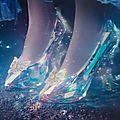 Cendrillon pantoufles de verre