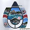 2015 Cuba hotel piscine signée
