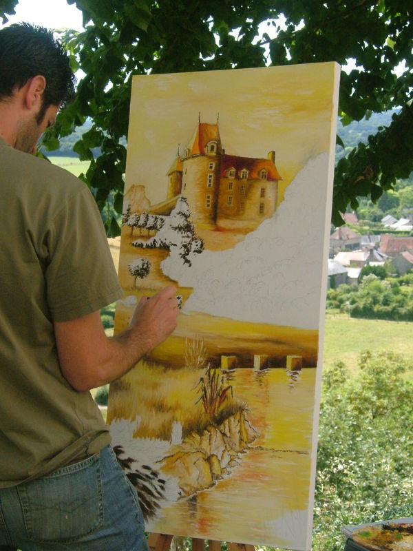 peintres dans la rue STE SUZANNE
