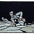 24 estampes sur la guerre par <b>Georges</b> Bruyer