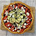 Tarte salée tomates courgettes tapenade