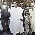 Ahidjo et famille