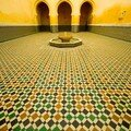 Mosaique Mausolee Moulay Ismail