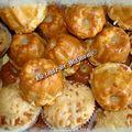 Muffins et mini kouglopfs au leerdammer et bacon