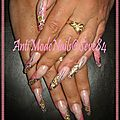 Gold pink lady