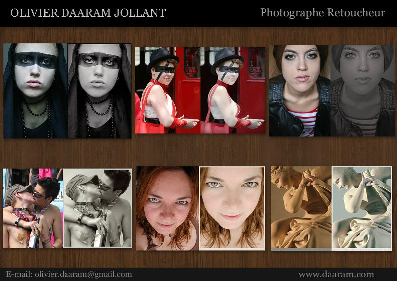Composite Retoucheur Photo 2012: Olivier Daaram