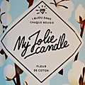 My jolie candle: la double surprise !
