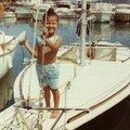 à bord du biquille Triskel, matelot