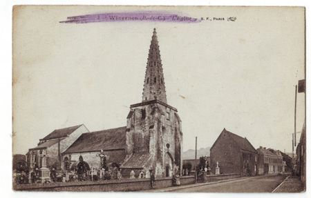 62 - WIZERNES - L'église