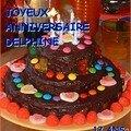 Bon anniversaire delphine....