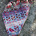 À la une de mai sur mon bird shawl