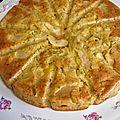 Le gâteau 4x9 , pommes nectarines